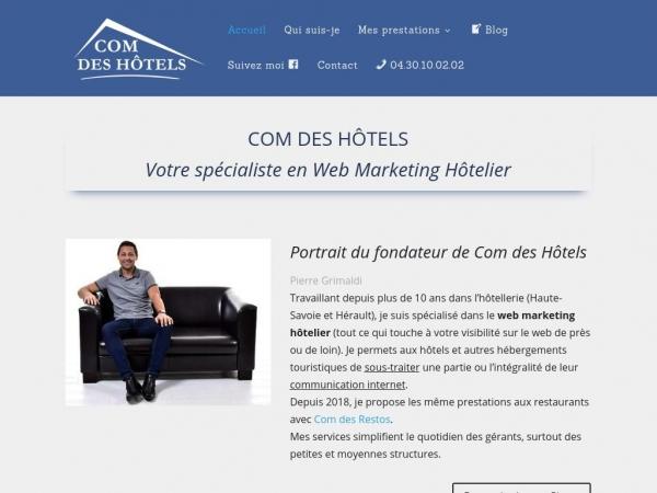 comdeshotels.fr